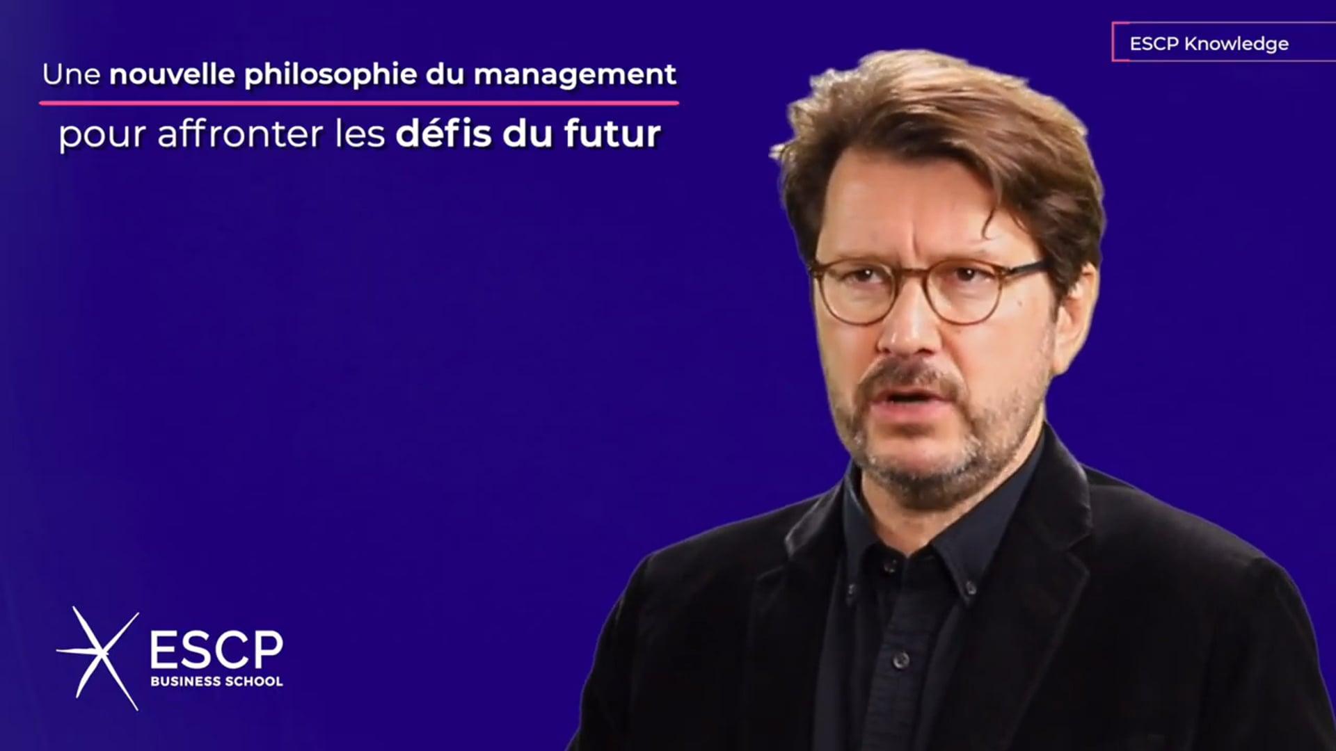 Un livre pour définir les contours d'une nouvelle philosophie du management – Vimeo thumbnail